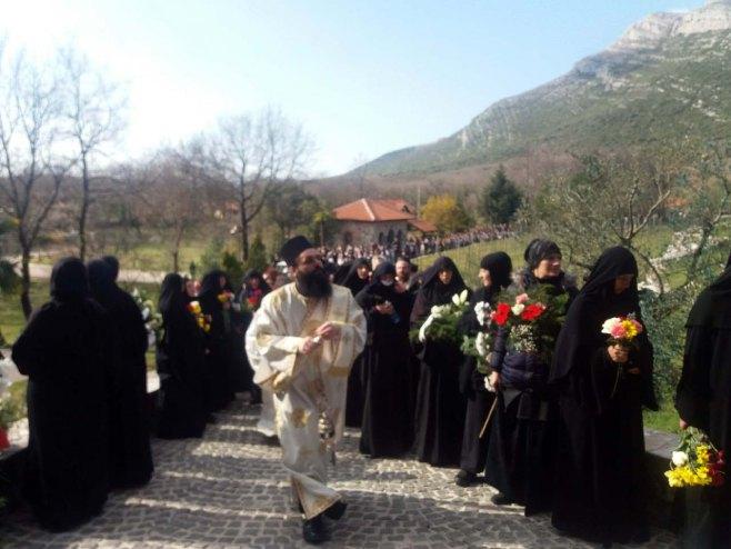 Sahrana episkopa Atanasija
