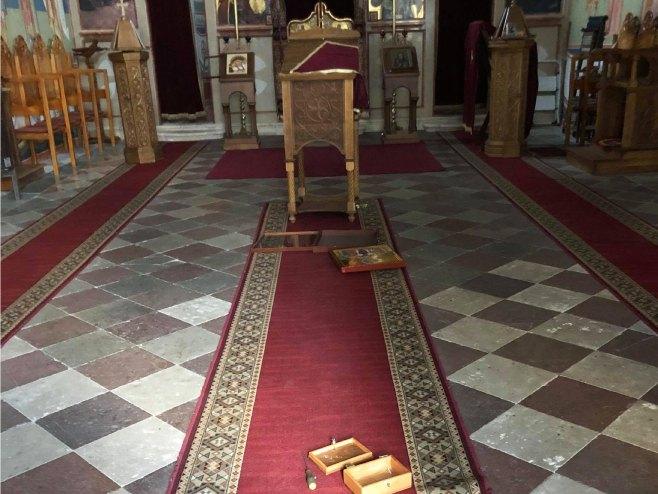 Unutrašnjost Crkve (foto: Eparhija dalmatinska)