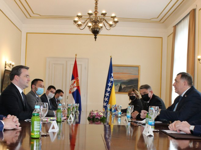 Селаковић, Додик, Комшић и Џаферовић (фото: mfa.gov.rs)
