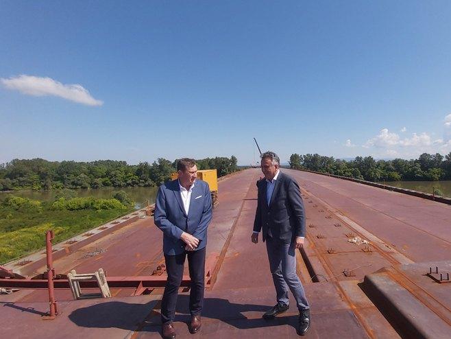 Vojin Mitrović i Dušan Topić (Foto: RTRS)