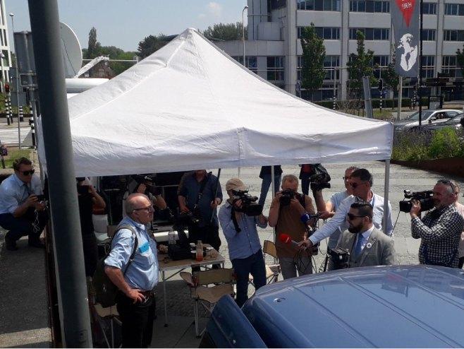 Инцидент у Хагу (Фото: РТРС)