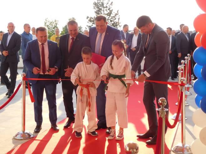 Otvaranje sportske dvorane u Istočnom Sarajevu (foto: SRNA)