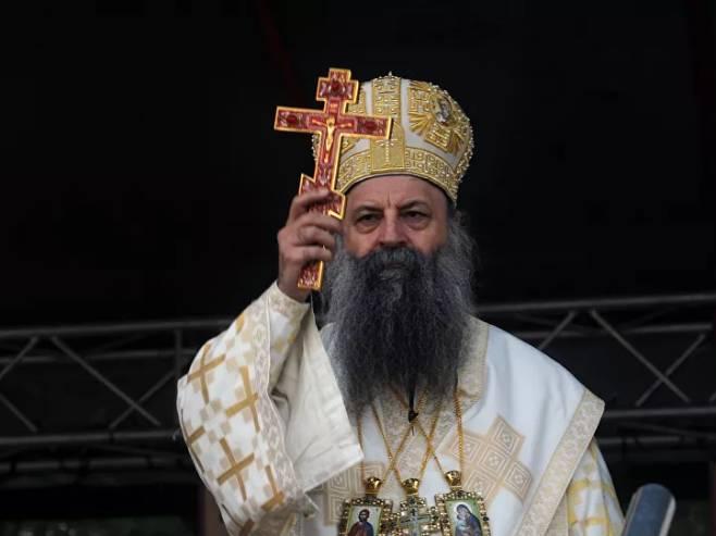 Patrijarh Porfirije (Foto:Tanjug / TARA RADOVANOVIC) -