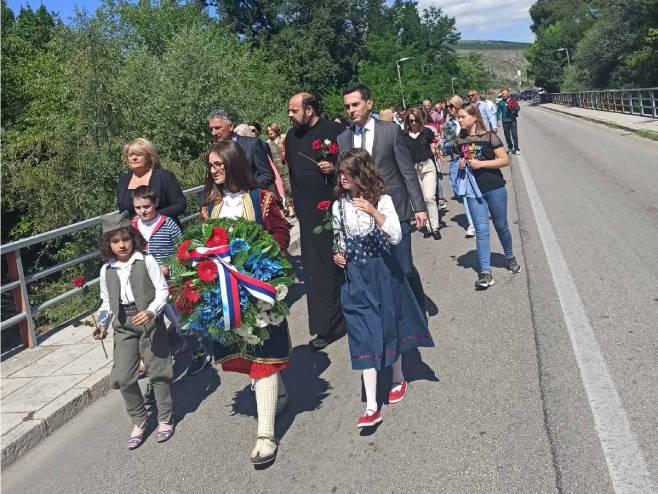 Mostar - obilježavanje - Foto: RTRS