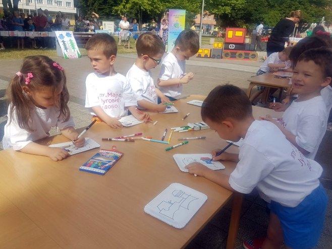 Djeca gradu Doboju (foto: RTRS)