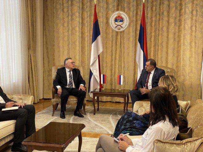 Dodik i Kalabuhov (foto: RTRS)