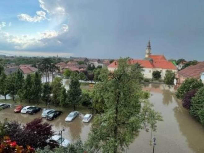 Vršac - poplave (foto: vrsaconline.com)