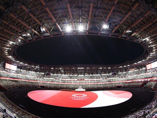 Ceremonija otvaranja Olimpijskih igara (foto: twitter.com/Tokyo2020) -