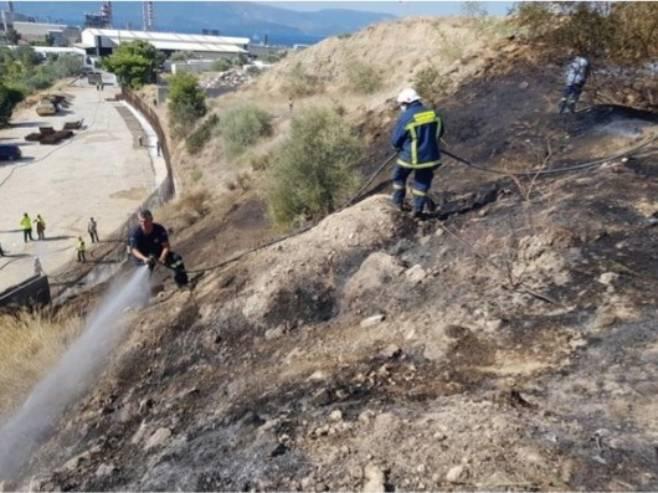Пожар у Грчкој (Фото:agioithethoroi.gr)