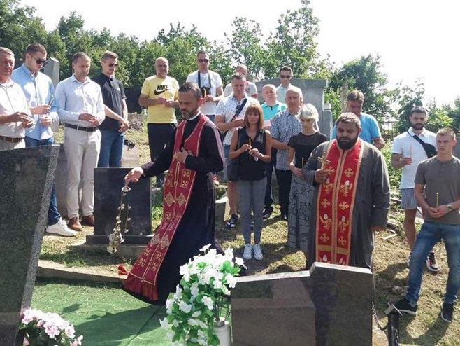 Помен дјечаку Слободану Стојановићу - Фото: СРНА