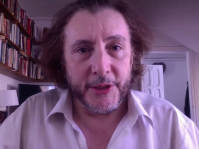 Džordž Semjueli (foto: youtube.com / SputnjikSrbijaVideo) -