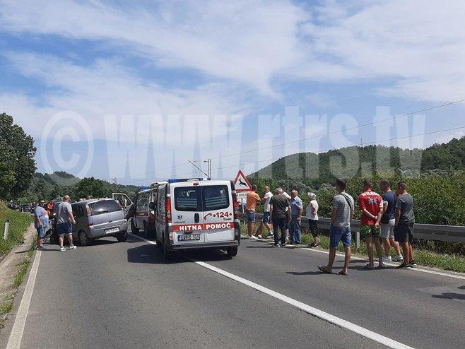 Sudar dva vozila u Blagaju
