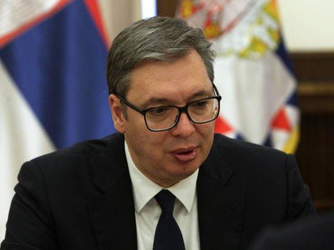 Aleksandar Vučić (Foto: TANJUG/ SAVA RADOVANOVIC) -