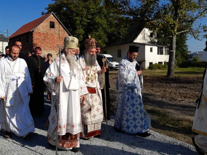 Patrijarh posjetio Jasenovac - Foto: RTRS
