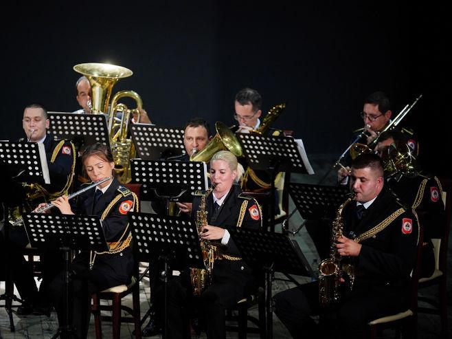Полицијски оркестар (Фото: РТРС)