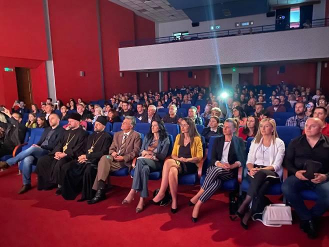 """Održana promocija spota Etno ansambla """"Uspomene"""" (foto: RTRS)"""