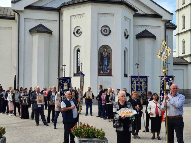 Doboj - svečana litija (Foto: SRNA)