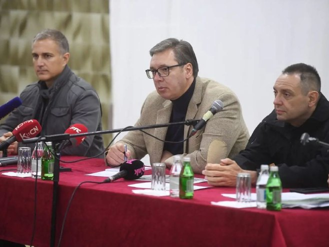 Aleksandar Vučić  (Foto: instagram.com/buducnostsrbijeav) -